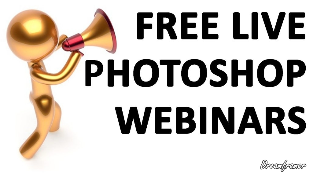 Live Photoshop Webinars
