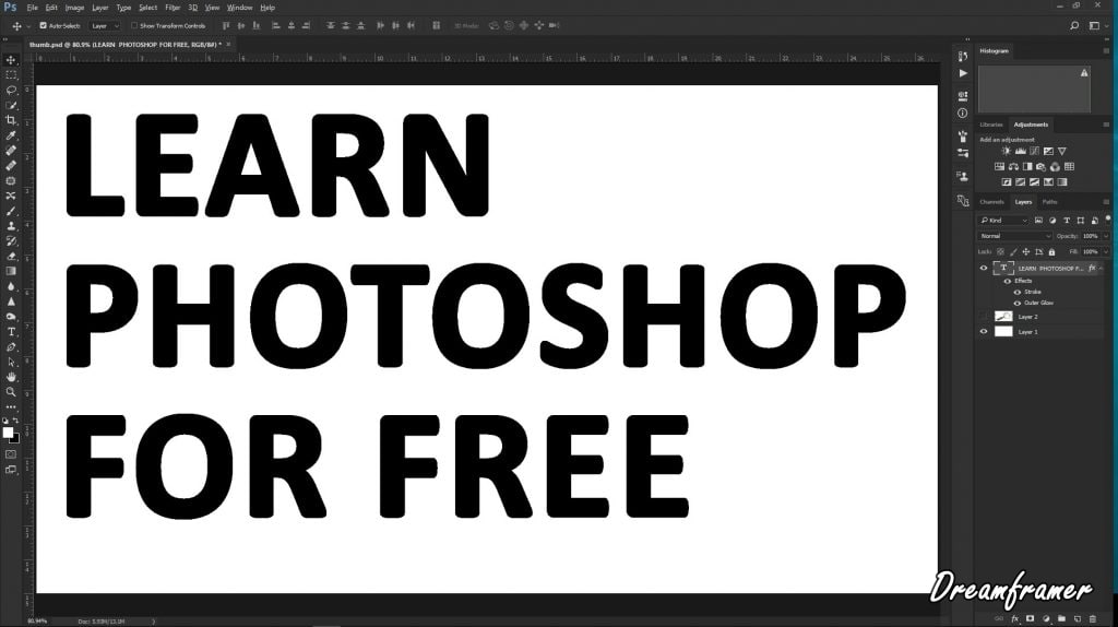 Free Photoshop classes