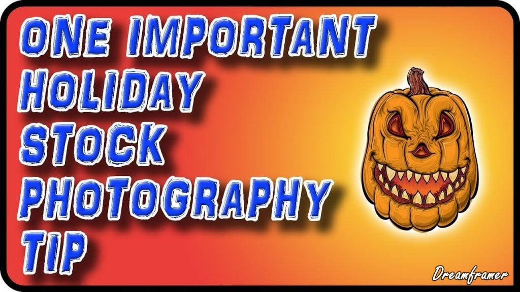 holiday stock photography tip