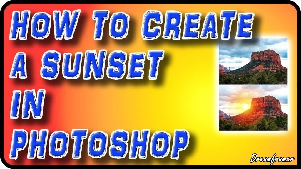 Create Sunset Photo