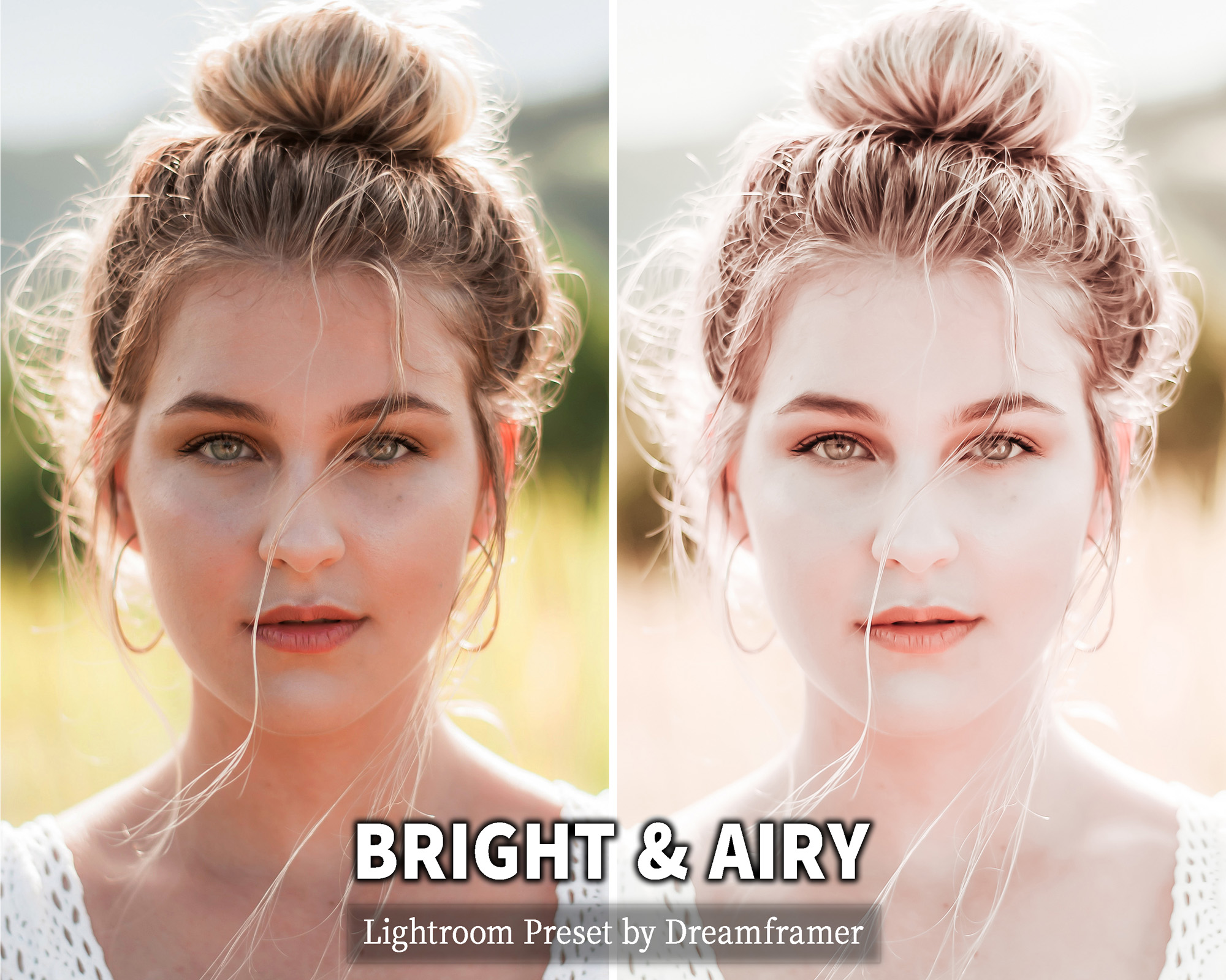 Bright and Airy Lightroom Preset