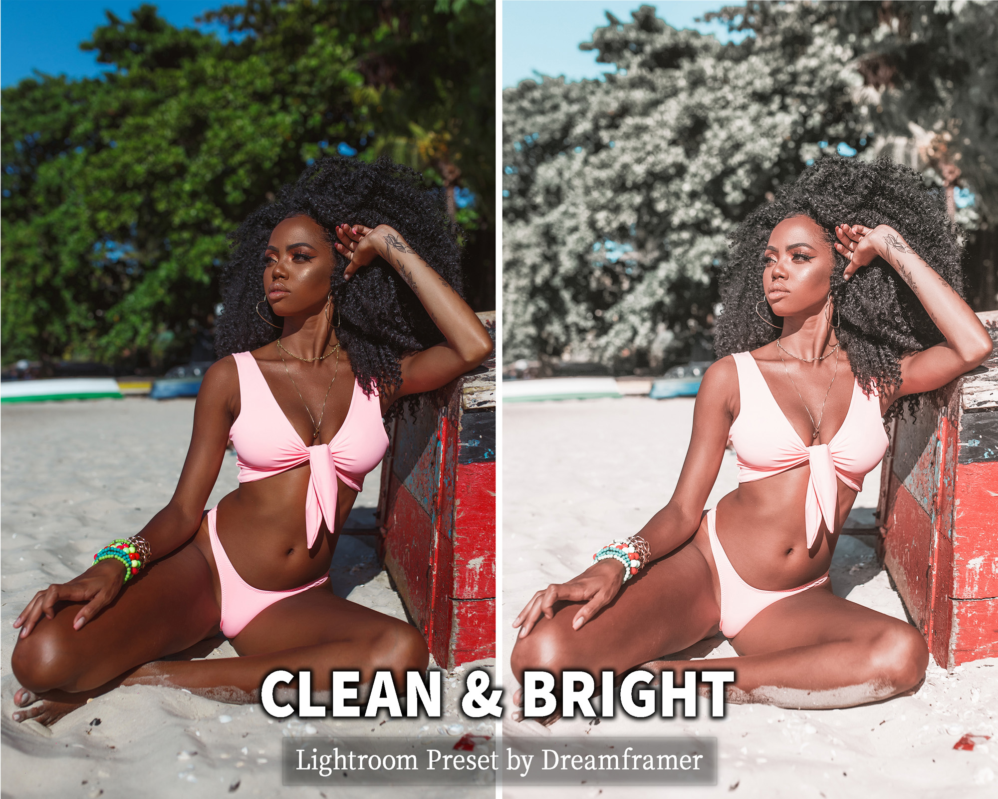 Clean and Bright Lightroom Preset